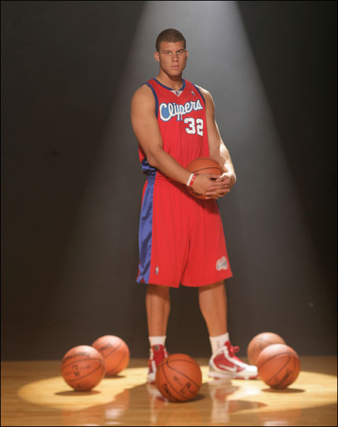 Blake Griffin clippers rookie