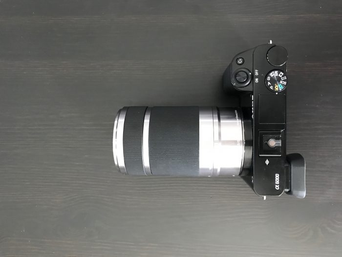 The 55-210mm lens on the a6000