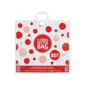 coles re useable bag