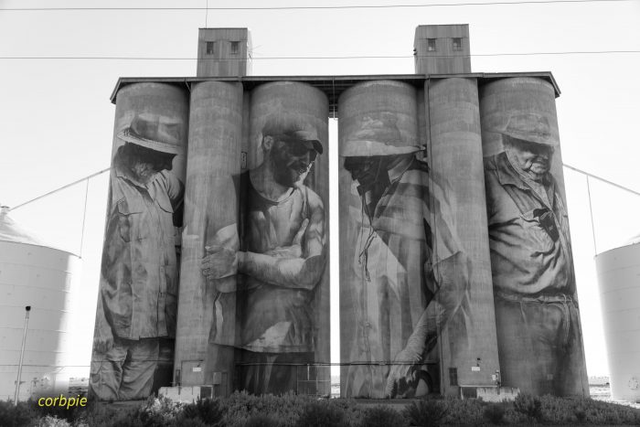 brim silo art silo trail 2019 4 bw