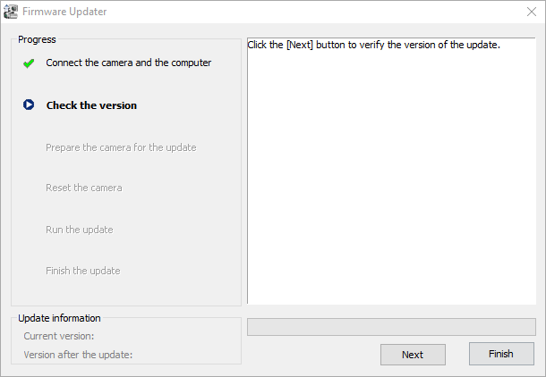 Updating sony a6000 firmware to 3.21 2